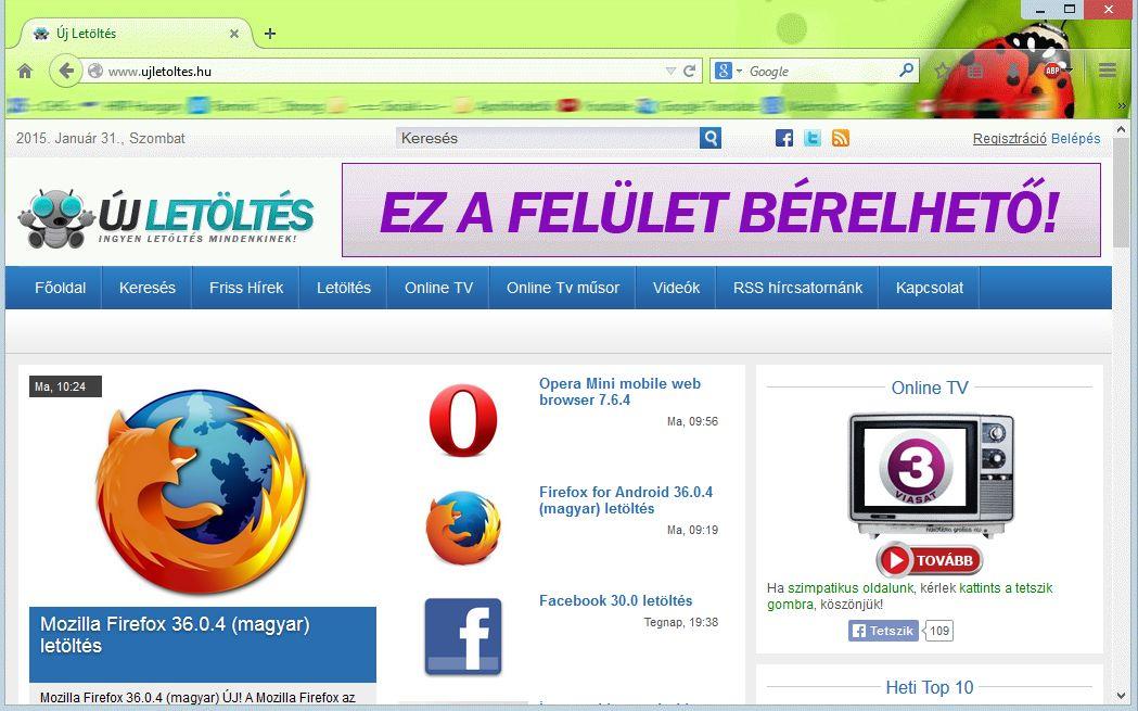 Firefox 41.0.1